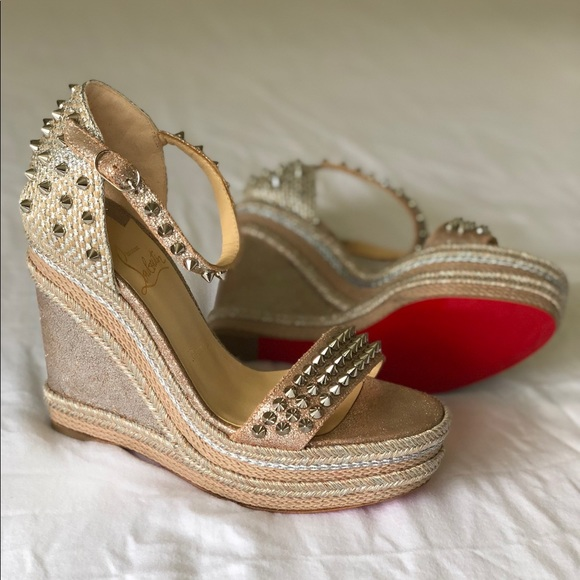 7ba3eb666069 Christian Louboutin Shoes - Authentic Christian Louboutin Madmonica  Espadrille